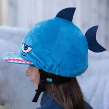 Equetech Sammy Shark Hat Silk