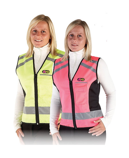 HYViz Reflective Waistcoat - Pass Wide and Slow