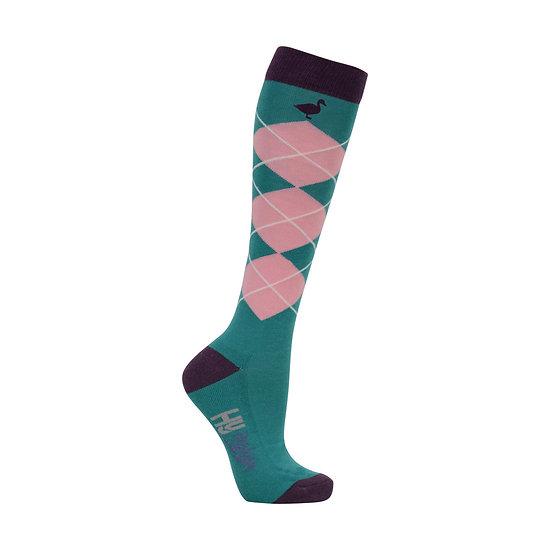 HY Fashion Farm Yard Socks 3 pack (Adult 4-8)
