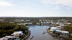 Coomera Waters aerial view