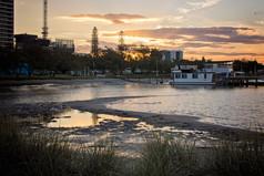 Broadwater houseboat