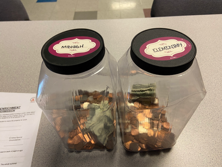 Penny Drive Fundraiser