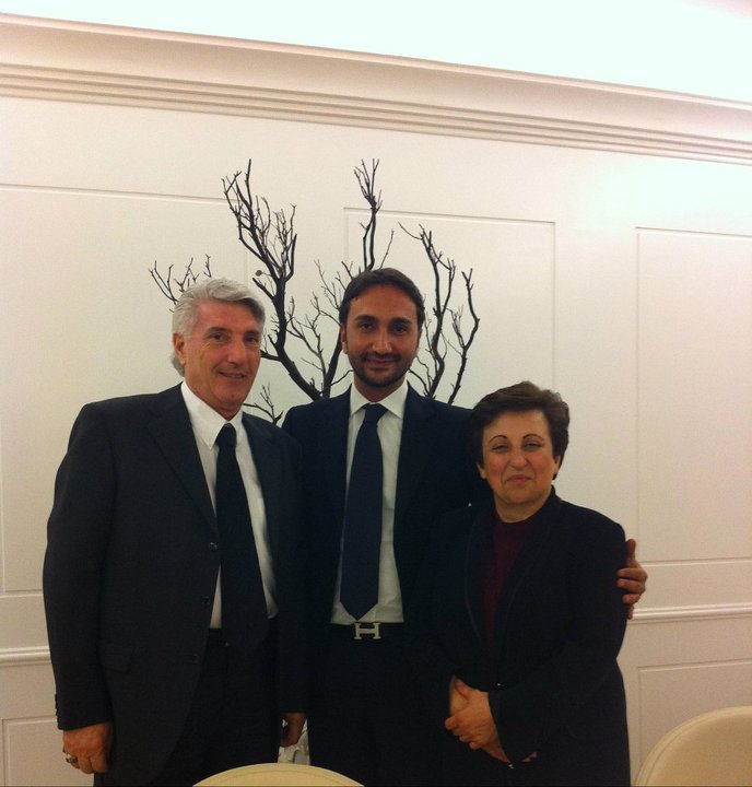 SHIRIN EBADI & WOODROW CLARK