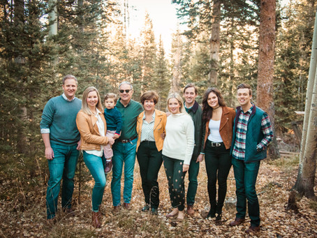 Murphy Family | Telluride Family Photography