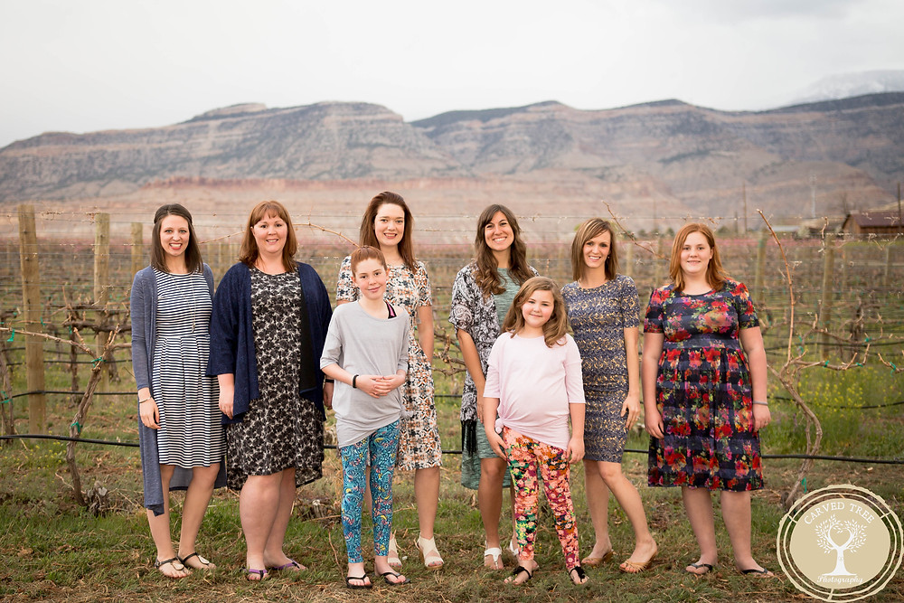 Grand Junction fashion photography spring