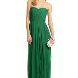 Badgley Mischka Emerald Flora Gown