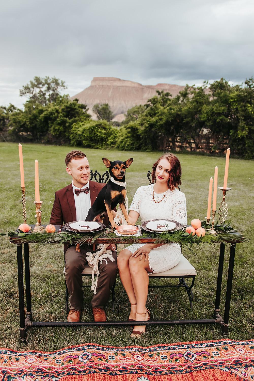 Palisade River Ranch dog friendly wedding venue Palisade Colorado