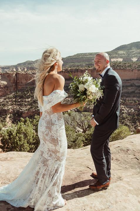 Colorado National Monument Wedding Fruit