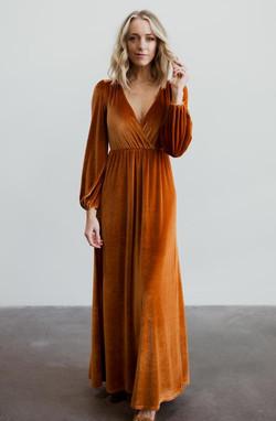 Baltic Born Sadie Ginger Maxi Dress