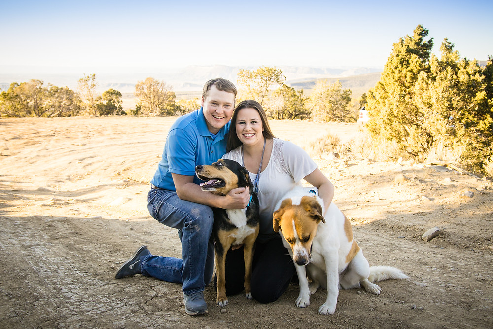 Grand Junction Engagement Photography Fall Whitewater