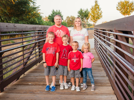 Ashley + Lehi Family - Fruita Family Photography