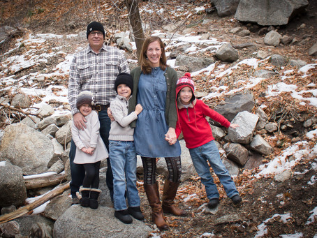 Becky + Dennis Family | Grand Junction Family Holiday Photography