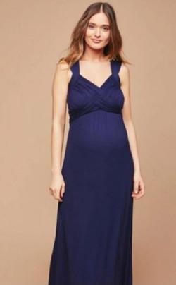 Motherhood Maternity Navy Blue Criss Cro