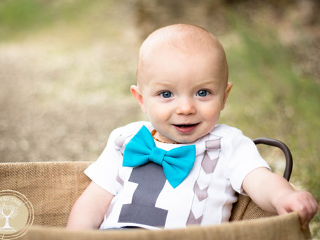 Carson's First Birthday | Grand Junction Children and Family Photography