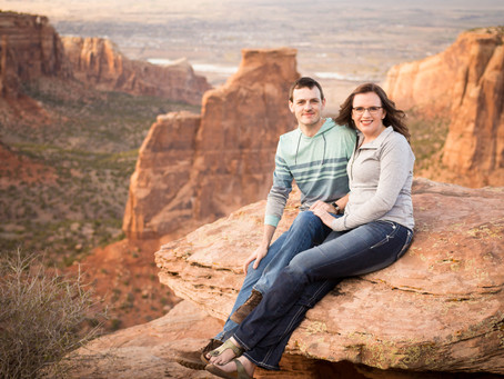Amanda + Cord Engagement | Grand Junction Wedding Photography