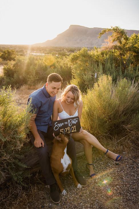 Palisade Colorado Orchard Vineyard Engagement