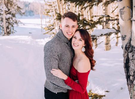 Abby + Trevor   Grand Junction Engagement Mesa Lakes