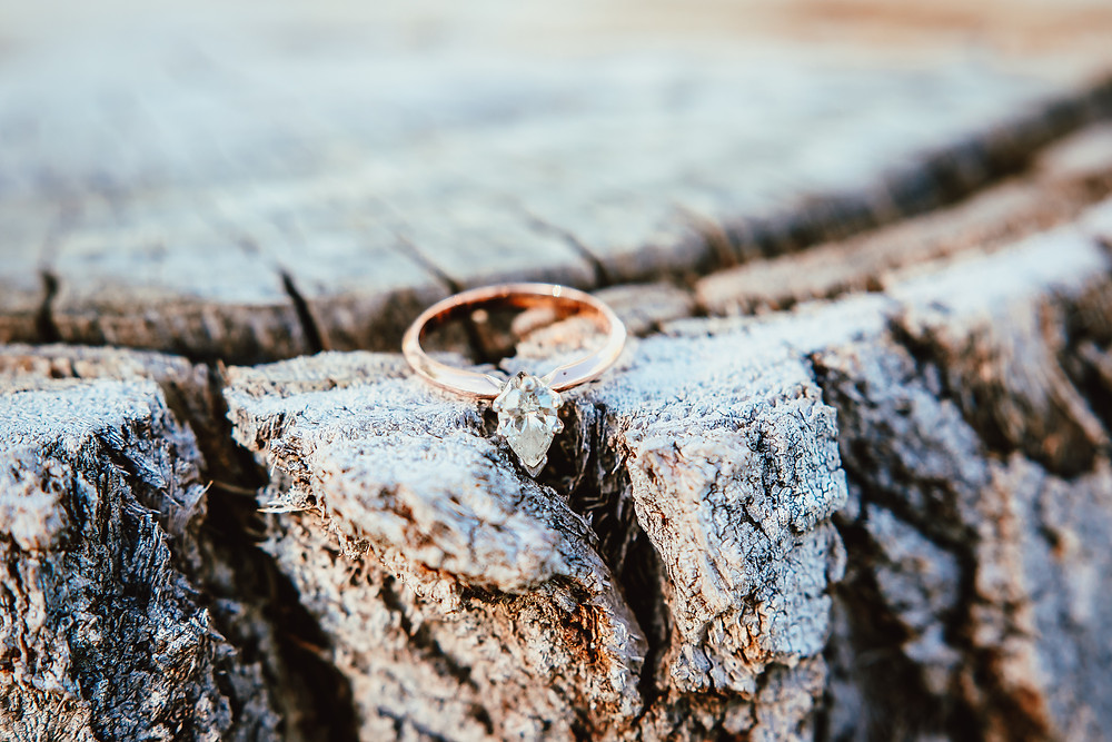 Palisade Colorado Photography Engagement Ring