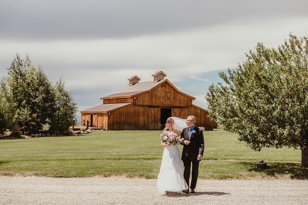 Mountain Colorado Wedding Antler Ridge Montrose