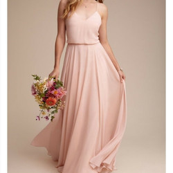 Jenny Yoo Inesse Blush Dress