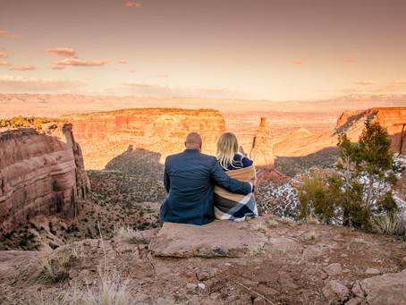 Jen + Jens | Grand Junction Engagement Photography Colorado National Monument