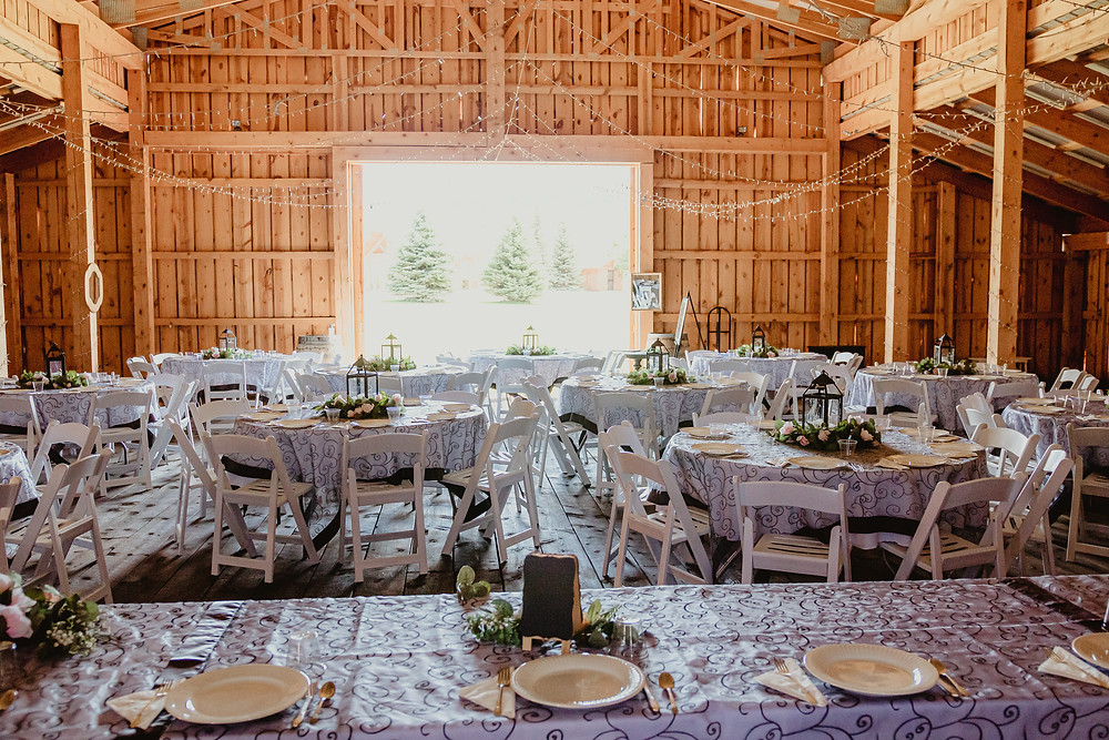 Antler Ridge Montrose Wedding venue barn