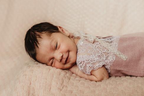 Grand Junction Newborn Photos Baby Girl-