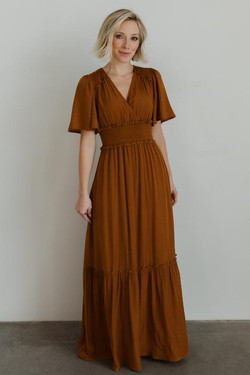 Baltic Born Jules Nutmeg Maxi Dress