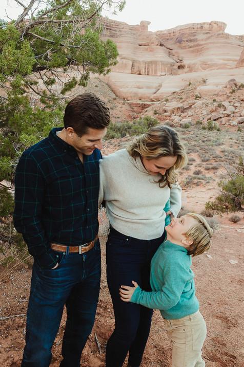 Moab Utah Family Photo Session Vacation
