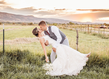 Annie + Taylor   Colorado National Monument Wedding Photography Grand Junction