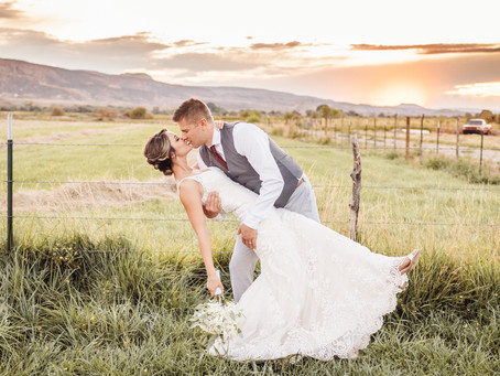 Annie + Taylor | Colorado National Monument Wedding Photography Grand Junction