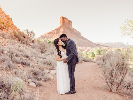 Ana + Jordan | Gateway Wedding Photography Gateway Canyons Resort Elopement
