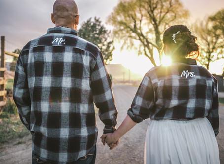 Jessica + Andrew | Mancos Wedding Photography Flannel and Adventure Wedding