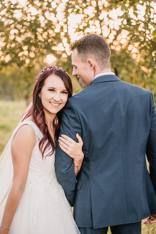 Palisade Colorado orchard vineyard wedding