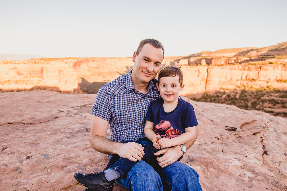 Grand Junction Family Photography Colorado National Monument