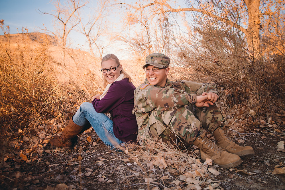 Palisade Engagement Photography
