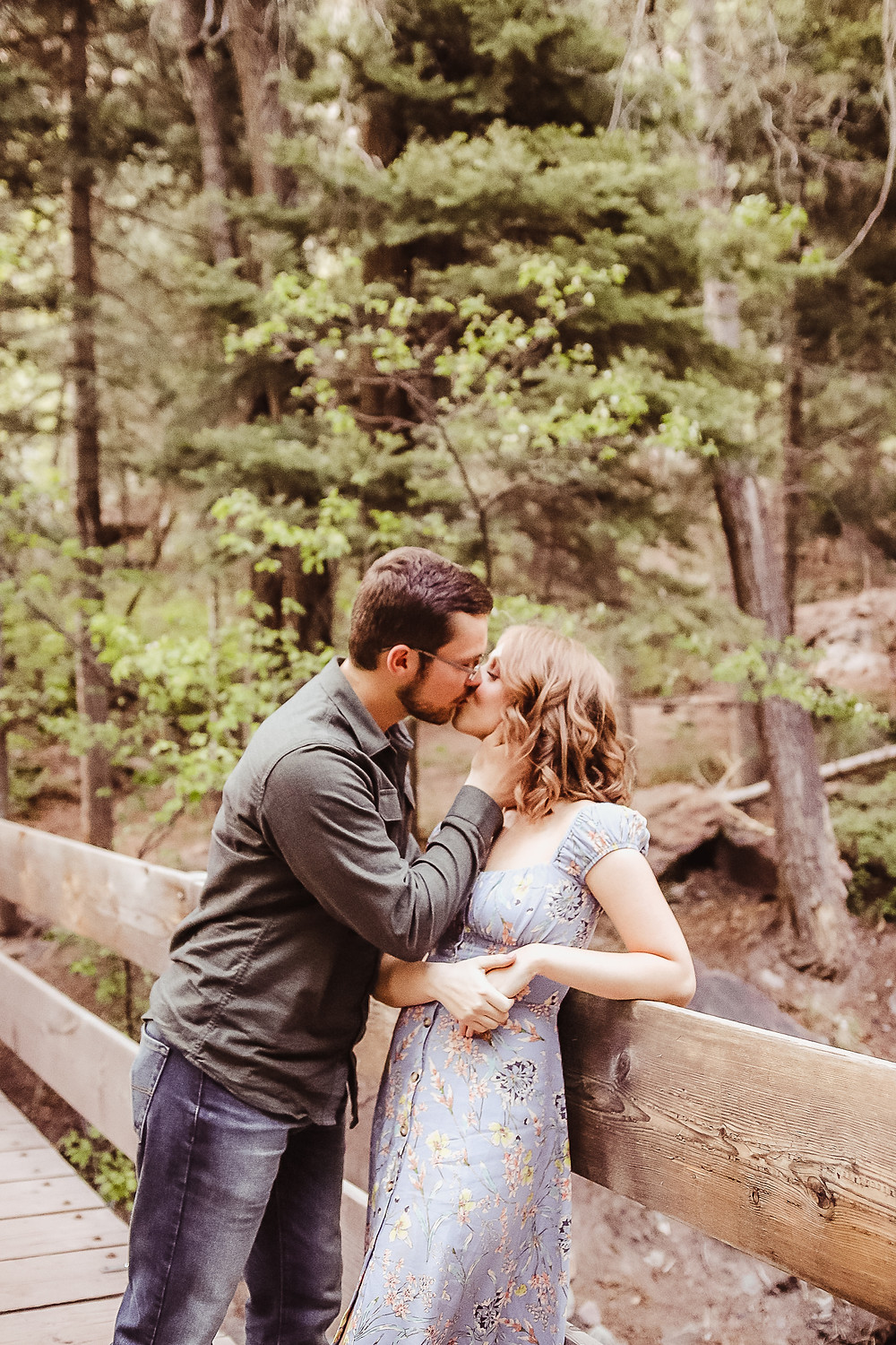 Ouray Cascade Falls Waterfall Colorado Ridgeway Telluride Engagement
