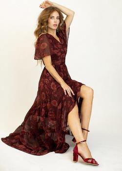 Joy Folie Nixi Floral Boho Dress 2