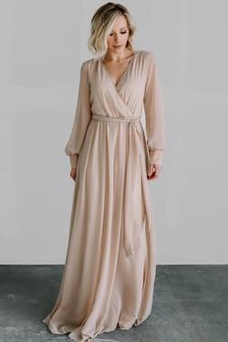 Baltic Born Lydia Natural Dress Maxi