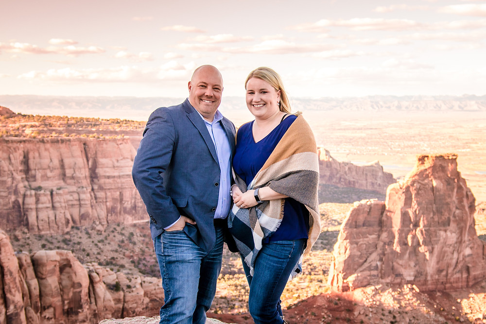 Grand Junction Engagement Photography Colorado National Monument