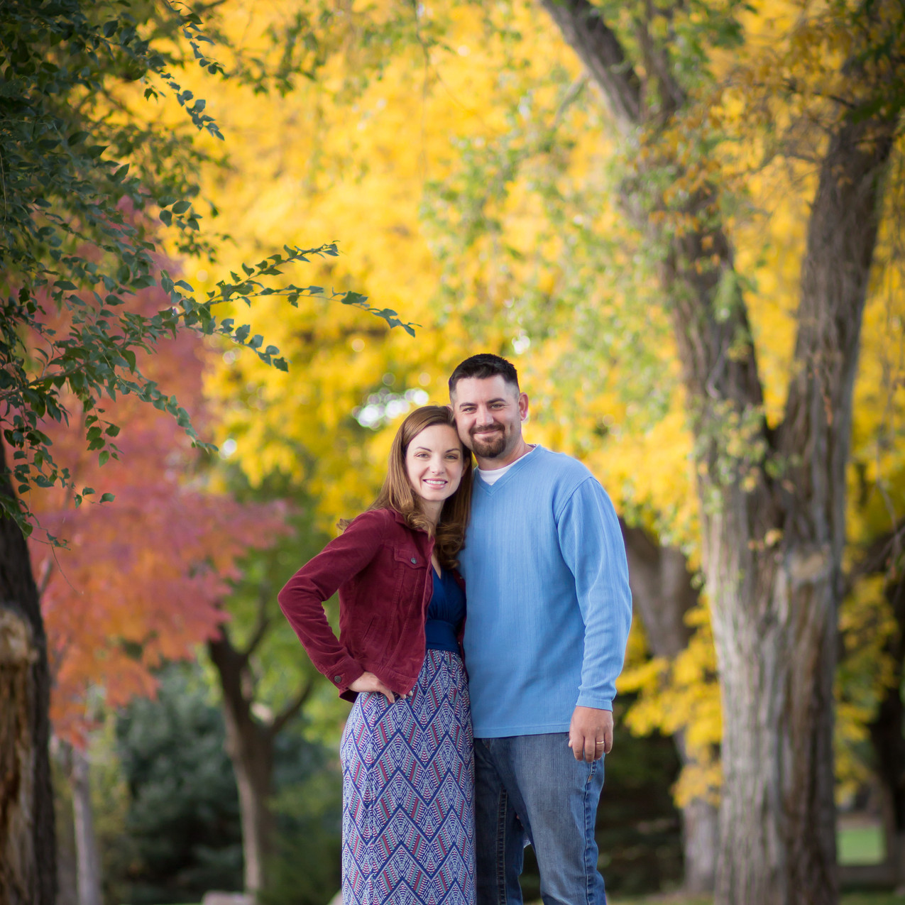 Fall family photography in Grand Junction, Colorado