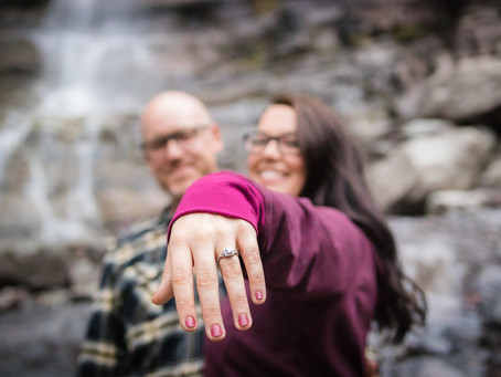 Jessica + Andrew   Ouray Engagement Photography