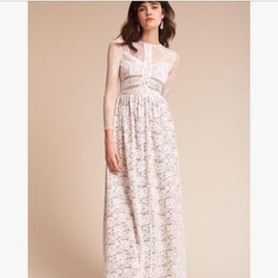 BHLDN Sau Anthropologie Lace Long Sleeve