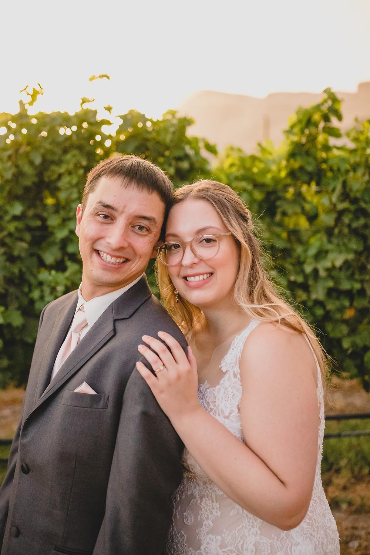 Vineyard wedding wine country palisade colorado