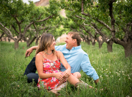 Natasha + Kaibab Engagement | Palisade Wedding Photography