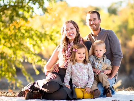 Janelle + Kellen Family | Grand Junction Family Photography