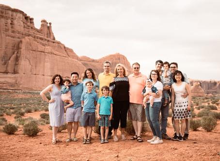 Colman Family   Moab Family Photography