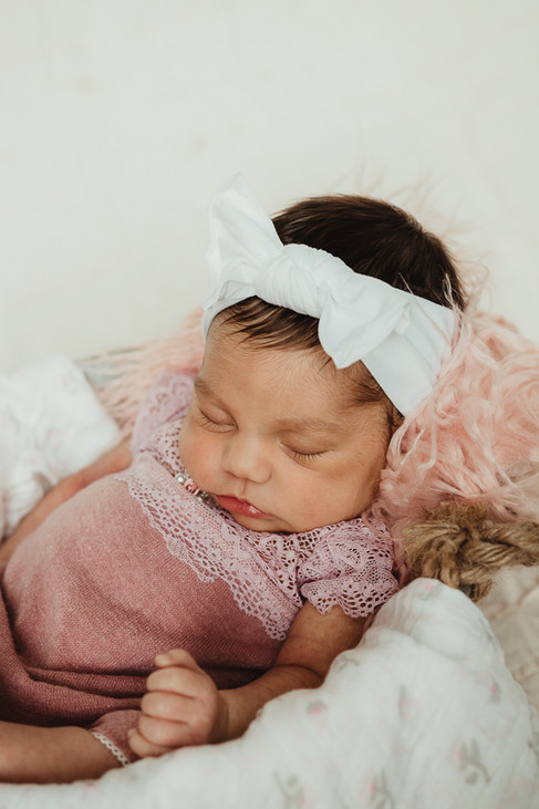 Grand Junction Newborn Photos Baby Girl-