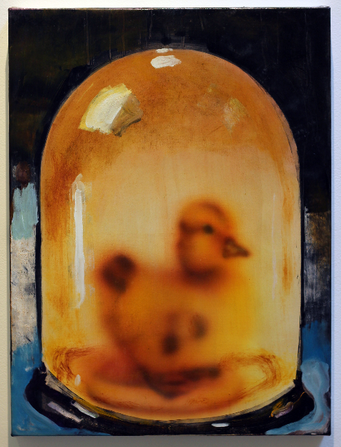 Yellow Dome with Duck, 2015