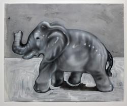 Porcelain Elephant, 2016